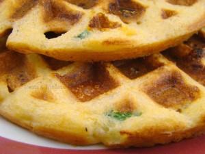 Chili Relleno Waffles